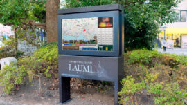 「LAUMI」 三浦半島広域観光情報デジタルサイネージ