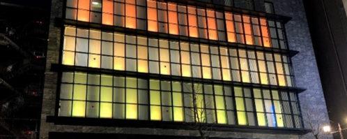 横浜幸銀信用組合<br> LED照明演出